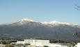 冬の安達太良山