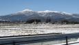 1月の安達太良山