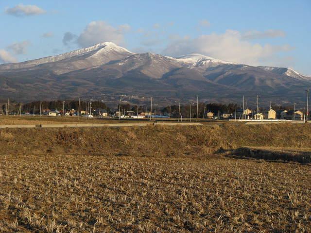 3月の安達太良山
