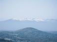 阿武隈山系と安達太良山