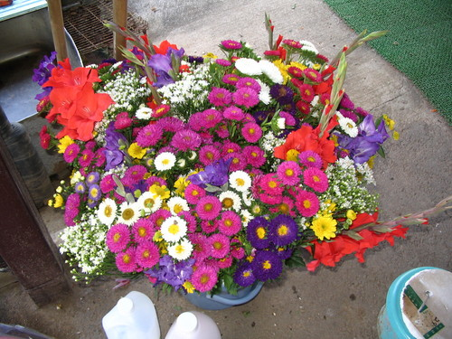 墓参用の花