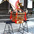 玉井神社の神輿