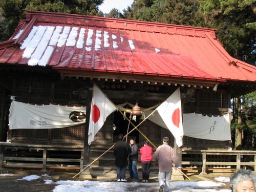 玉ノ井神社のお正月飾り