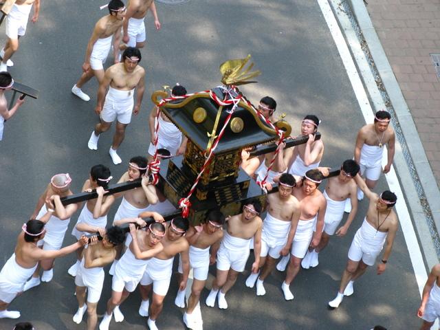 二本松白狐神社春の祭礼