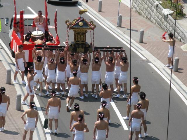 二本松市白狐神社春の祭礼