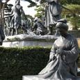 Img_0457 二本松少年隊と母のブロンズ像