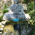 岩角山開山のお大師様の坐像