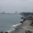 木戸川河口と広野火力発電所