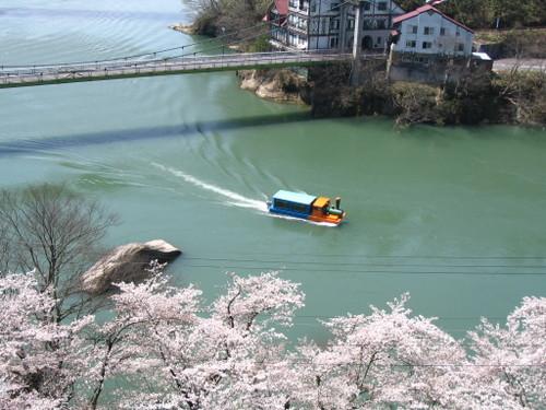 Img_0831 只見川の遊覧船