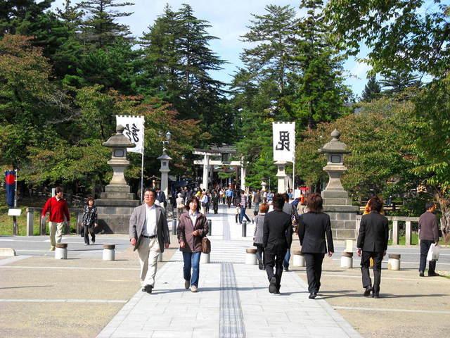 上杉神社前