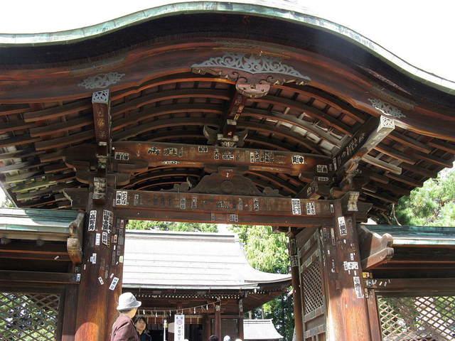 上杉神社山門